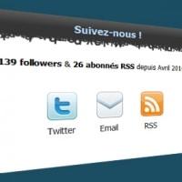 Affichez le nombre de lecteur sur Twitter et feedburner sur WordPress