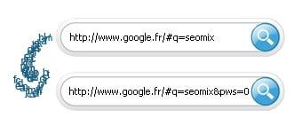 Désactivez la recherche personnalisée de Google via l'url