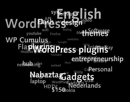 Wordpress WP Cumulus