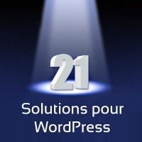 Wordpress sans plugins