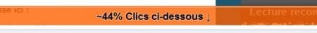 Fold dans google inpage analytics