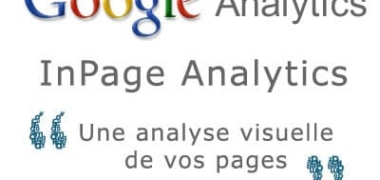 Google Analytics Inpage analyse le contenu de vos pages