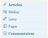 Mettez en avant le menu d'administration de WordPress