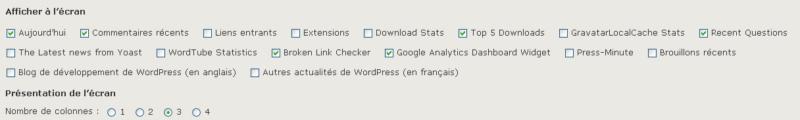 Personnalisez l'administration de WordPress