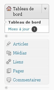 Une structure simple pour le CMS WordPress