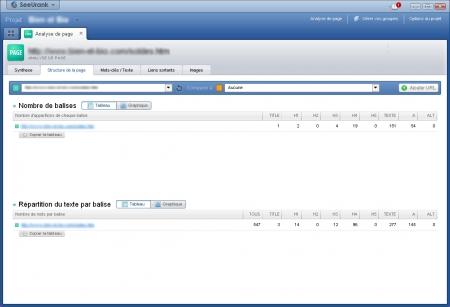 Analysez la structure de vos pages dans SeeUrank