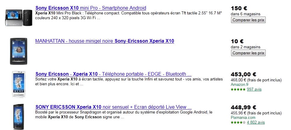 Stratégie sur Google Product Amazon ... 183391afe873