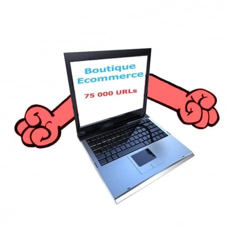 Mauvaise structure ecommercegénère trop d'URL