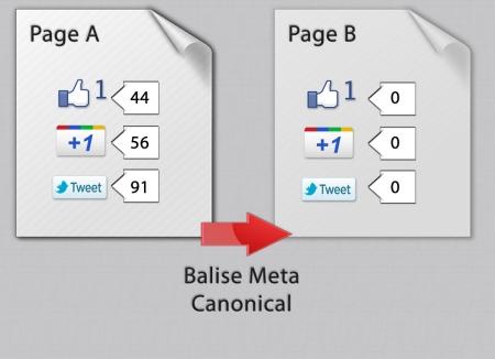 Les effets de la balise meta canonical sur les réseaux sociaux