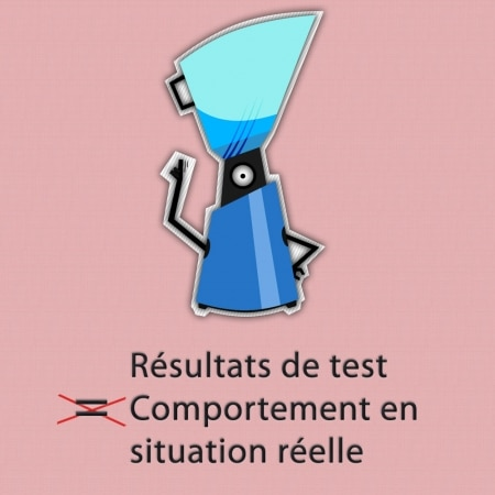 Résultats de tests SEO