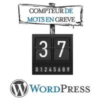 Compteur de Mots de WordPress en grève