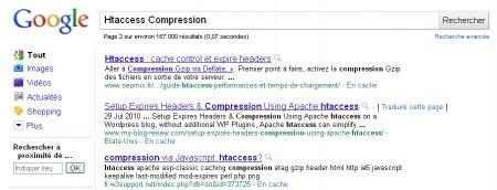 Google divise certaines pages en section grâce aux ancres