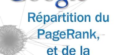 Répartition du pagerank et de la popularité