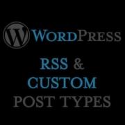 Flux RSS de WordPress et Custom Post Types