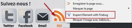 Bouton flux RSS
