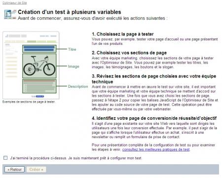 Comment créer un test à plusieurs variables?