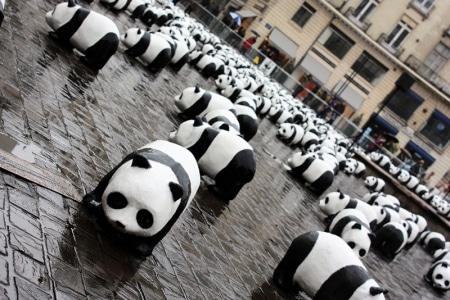 Pandas multiples