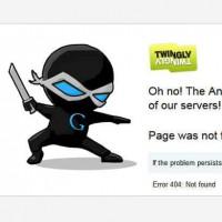 L'erreur serveur 404 de Twingly