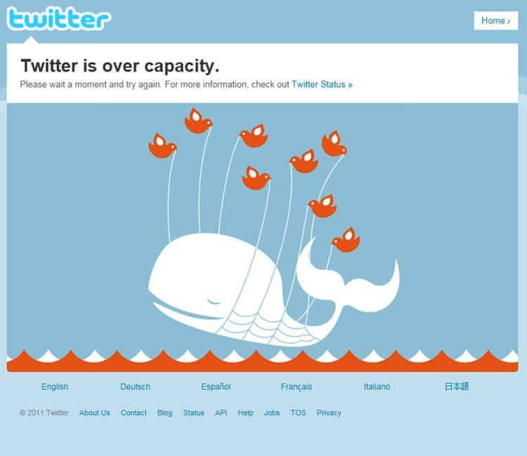 Rencontres et d'attente Twitter