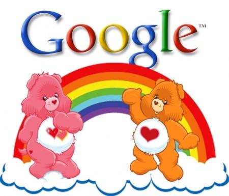 Google et les bisounours
