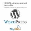 WordPress : erreur SQL et DB-Error.php