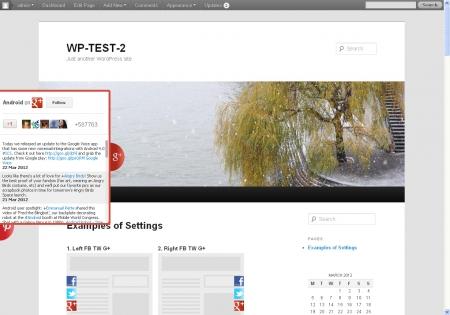 Plugin WordPress Likebox Slider