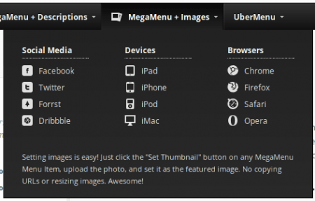 Plugin WordPress Uber Menu