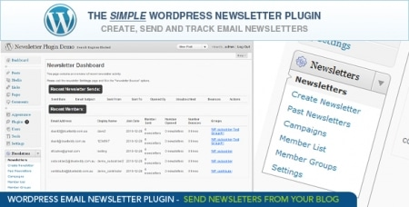 Plugin WordPress Email Newsletter