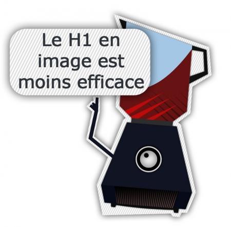 Balise H1 en image