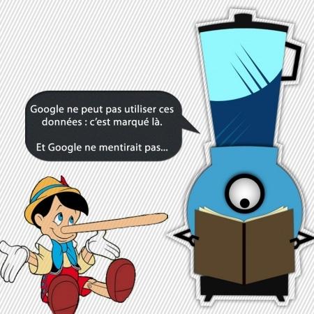 Conditions générales de Google