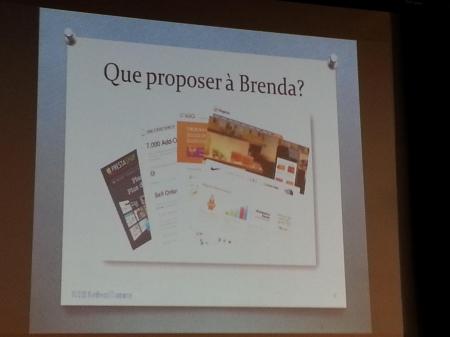 Brenda et WordPress