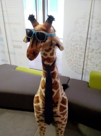 La girafe WordPress de retour