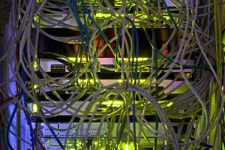 Maillage de cables réseaux