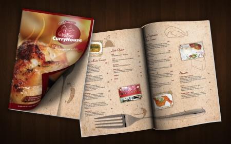 La carte de restaurant