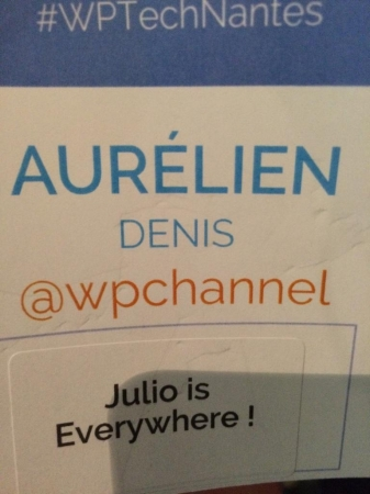 Badge WP Tech 2014