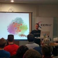 Daniel Roch présente un atelier WordPress