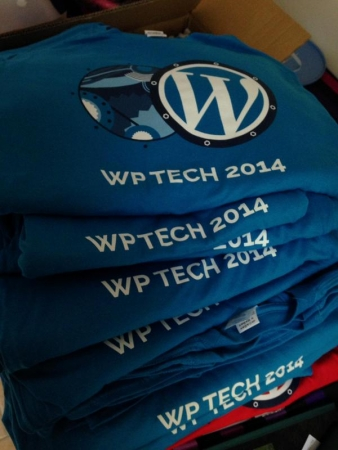 T-shirts du WP Tech