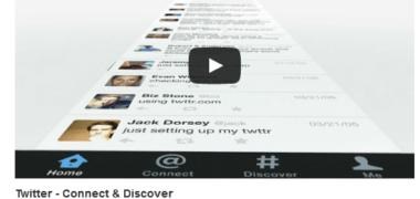 Twitter Card vidéo