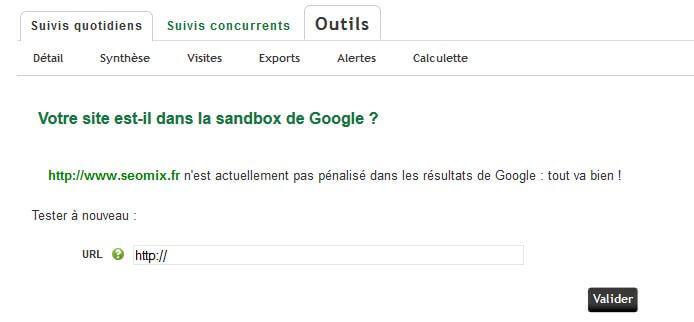 Google Sandbox Ranks