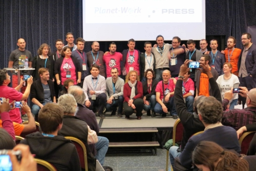 Les orateurs du WordCamp Paris 2016