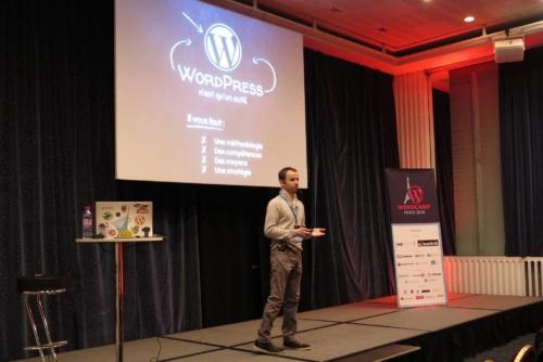 Daniel Roch en conférence