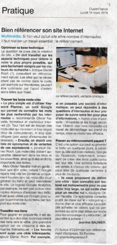 SeoMix dans Ouest France