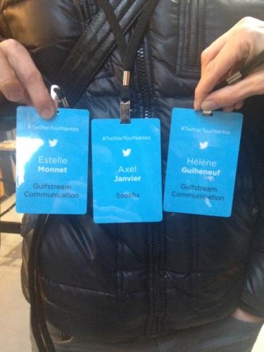 Twitter Tour Nantes