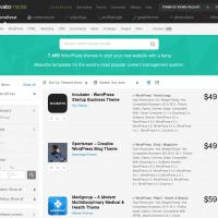 ThemeForest achat de thème premium WordPress et autre
