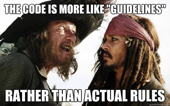 Les règles des Coding Standards