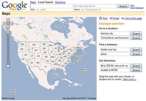 V1 de Google Maps