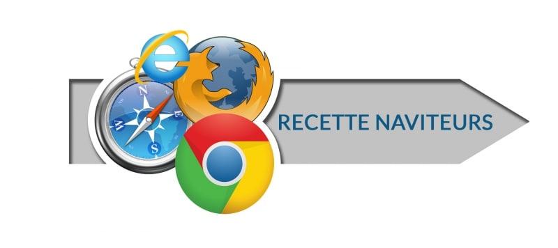 Navigateurs à recetter pour le projet web