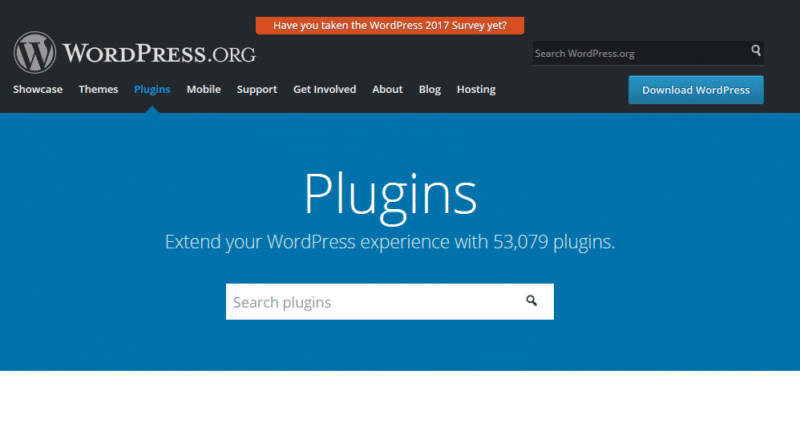 Les plugins de WordPress