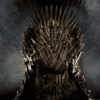 trone de game of throne vide