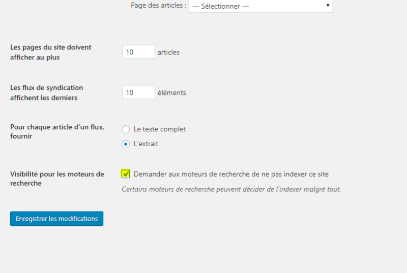 probleme indexation wordpress